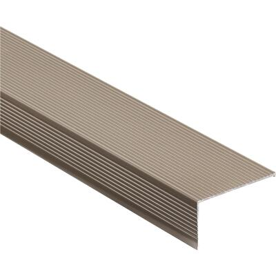 "M-D Ultra 2-3/4"" x 72"" Nickel Sill Nosing"