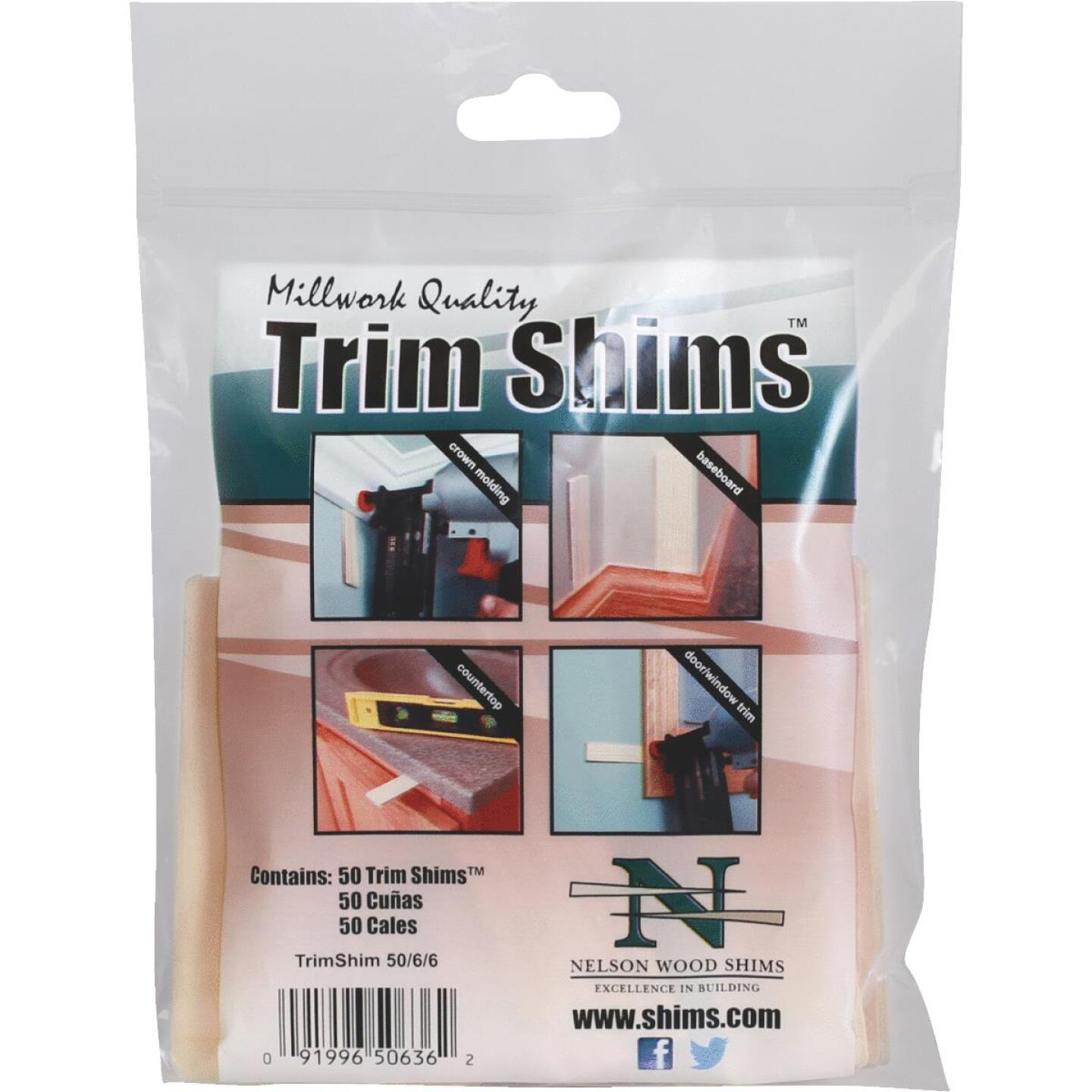 Nelson Wood Shims 3.5 In. L. Trim Shim (50-Count) Image 1