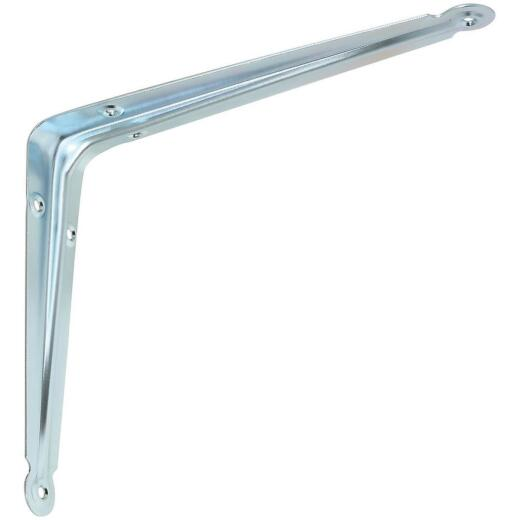 National 110BC 8 In. x 10 In. Zinc-Plated Steel Shelf Bracket