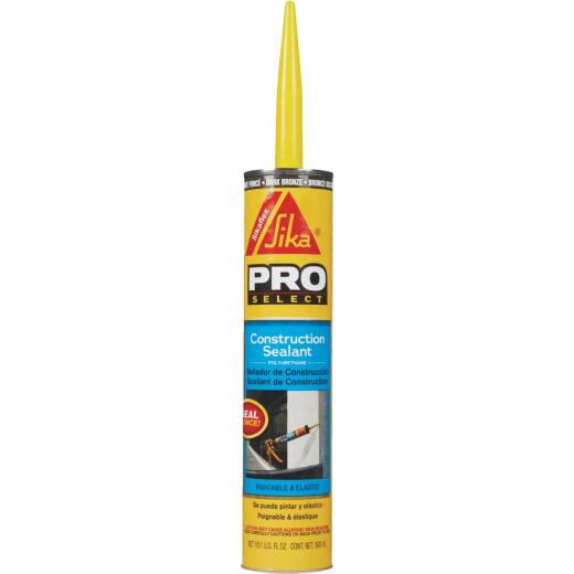 Sikaflex Sika 10.1 Oz. Pro Select Construction Polyurethane Sealant, Dark Bronze
