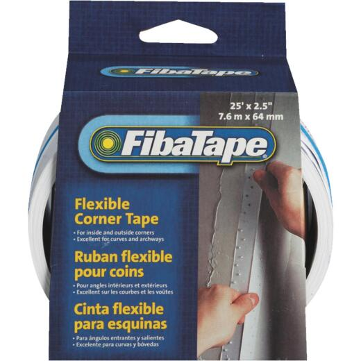 FibaTape Flexible Corner 2-1/2 In. X 25 Ft. Drywall Tape