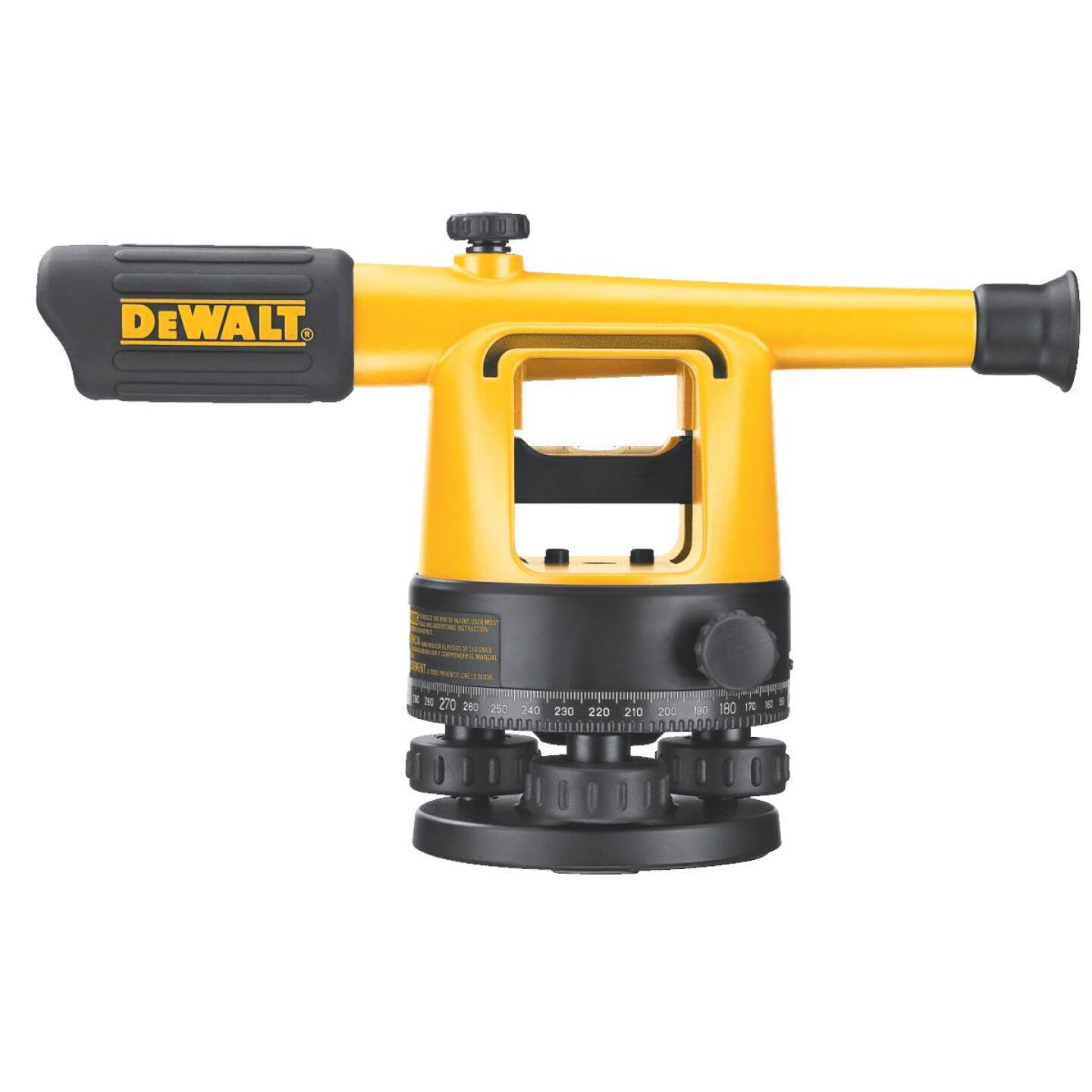 Dewalt 20x Magnifying Manual Sight Level Image 3