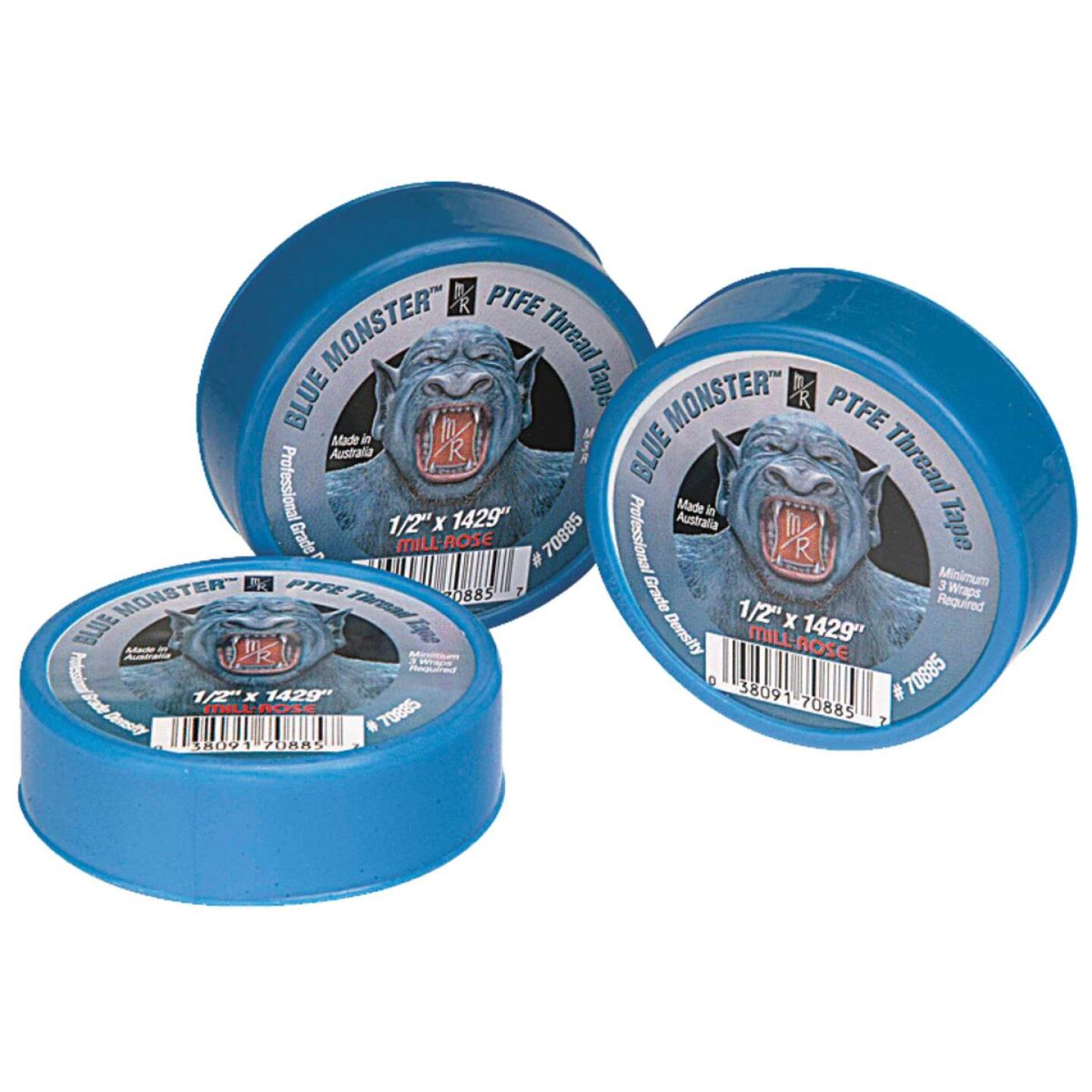 BLUE MONSTER 1/2 In. x 1429 In. Blue Thread Seal Tape Image 1