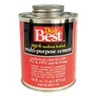 Do it Best 16 Oz. Medium Bodied Clear Multi Purpose Solvent Cement Image 1