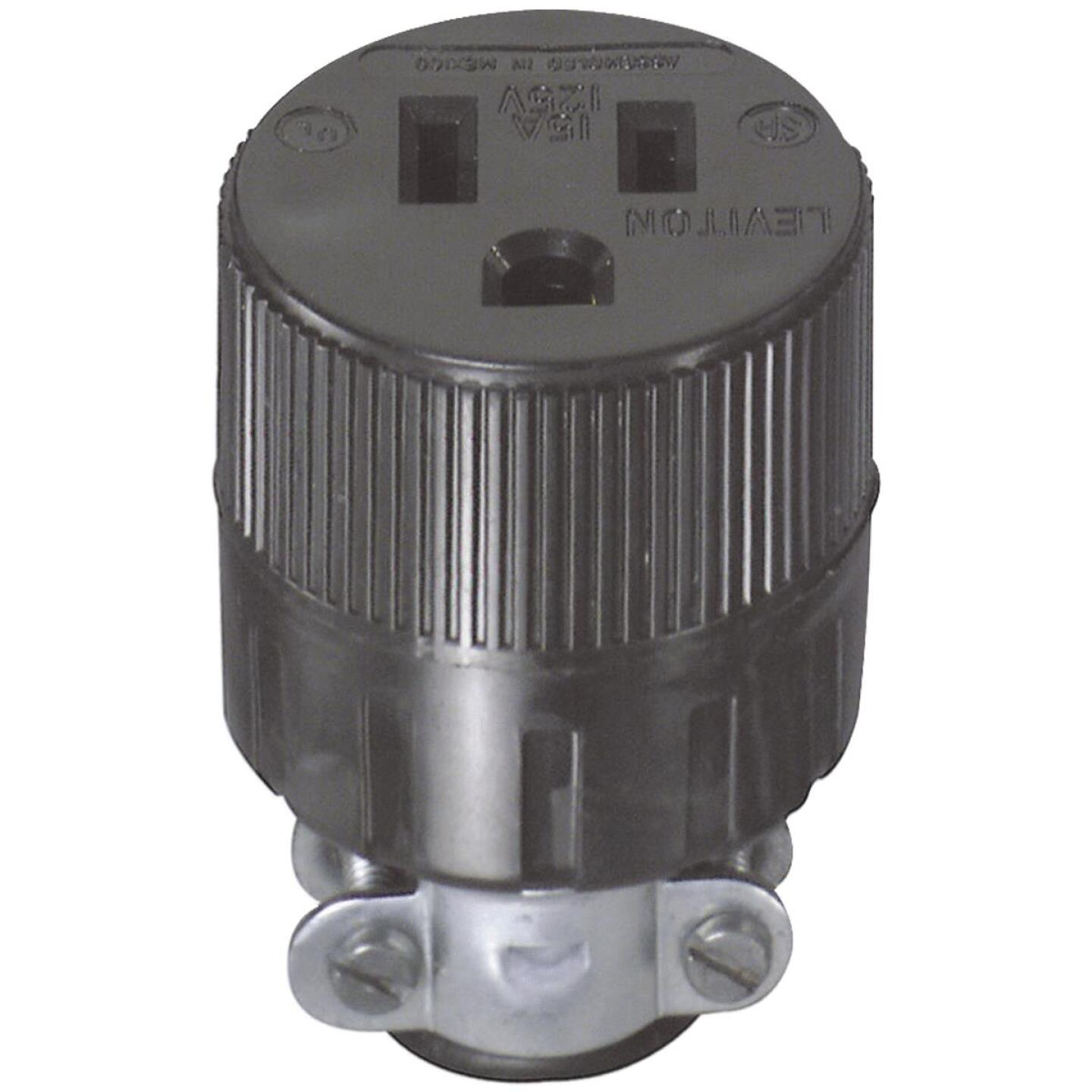 Do it 15A 125V 3-Wire 2-Pole Round Cord Connector Image 3