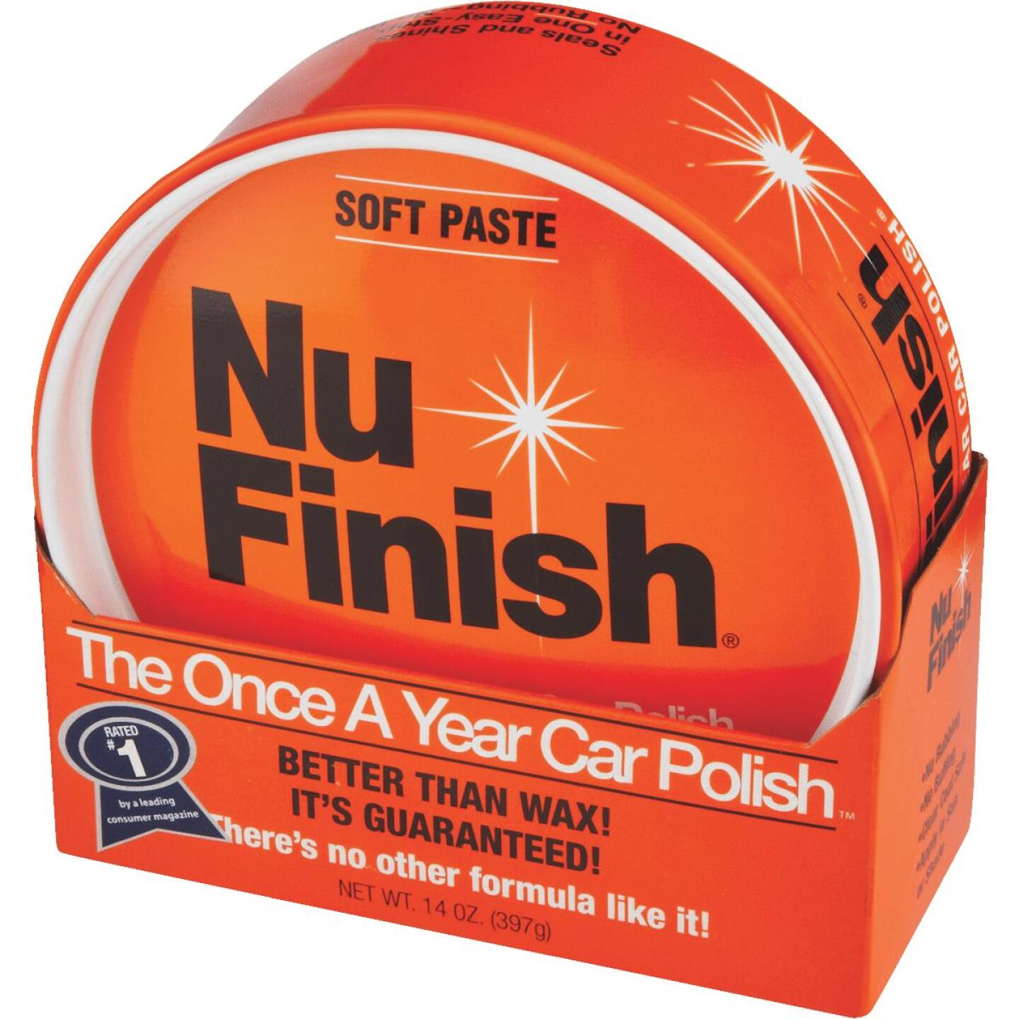 Nu Finish 14 oz Paste Car Wax Image 2