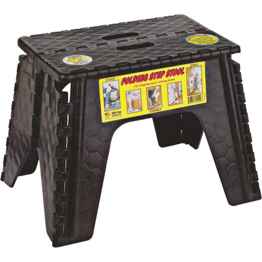 E-Z Foldz 12 In. 1-Step Folding Step Stool