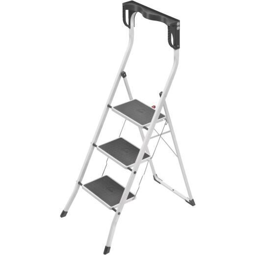 Hailo Safety Plus 3-Step Folding Step Stool