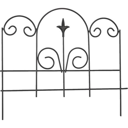 Panacea 16 In. H x 18 In. L Metal Decorative Border Fence
