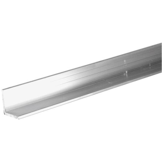 Hillman Steelworks 1-1/4 In. x 6 Ft. Aluminum Solid Angle