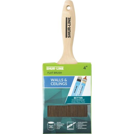 Shur-Line ONE COATER 4 In. Wall Flat Paint Brush