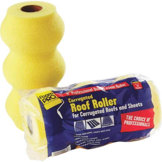 FoamPro 9 In. Professional Corrugated Roof Roller