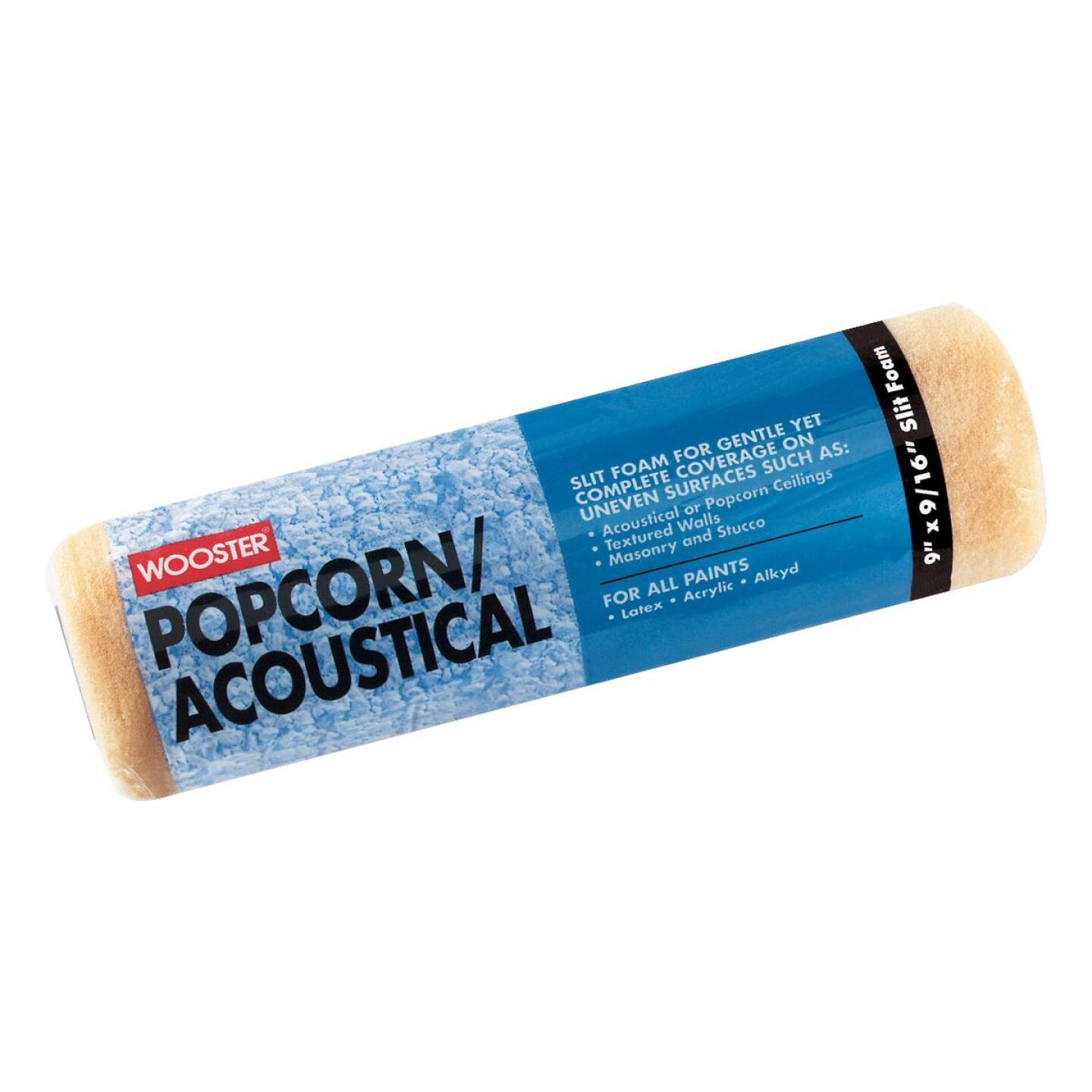 Wooster 9 In. Thick Popcorn/Acoustical Specialty Roller Cover Image 1
