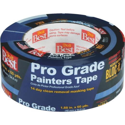 Do it Best Pro Grade 1.88 In. x 60 Yd. Blue Painter's Masking Tape