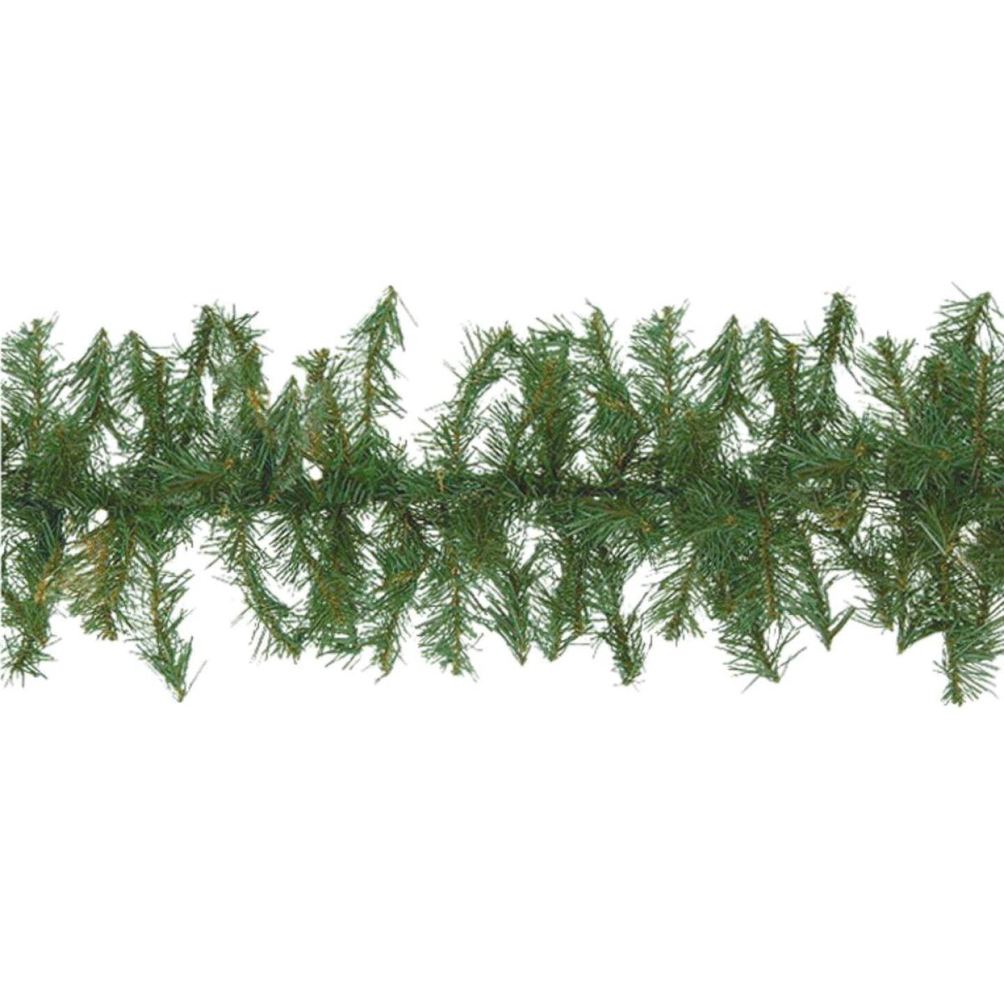 Gerson 9 Ft. Canadian Pine Garland Image 1