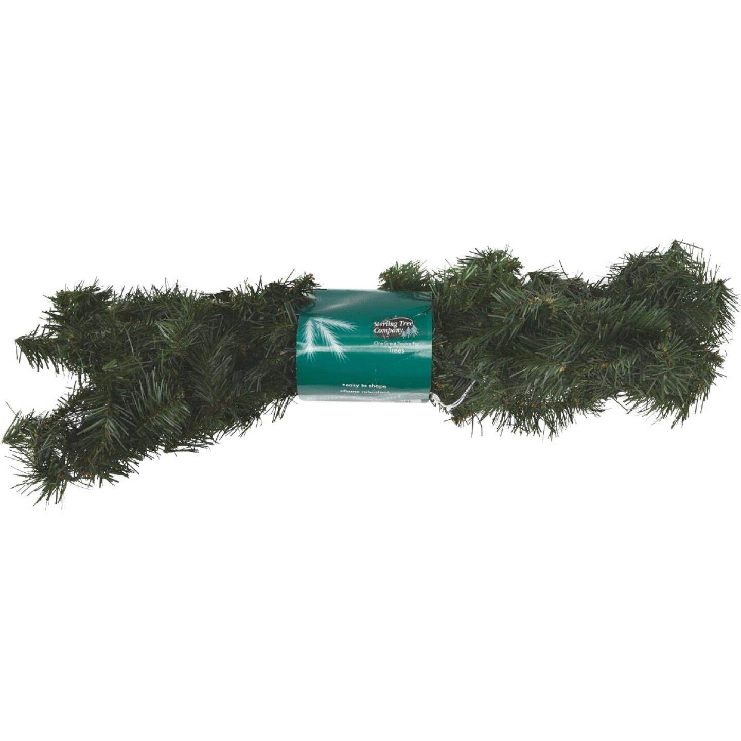 Gerson 9 Ft. Canadian Pine Garland Image 4